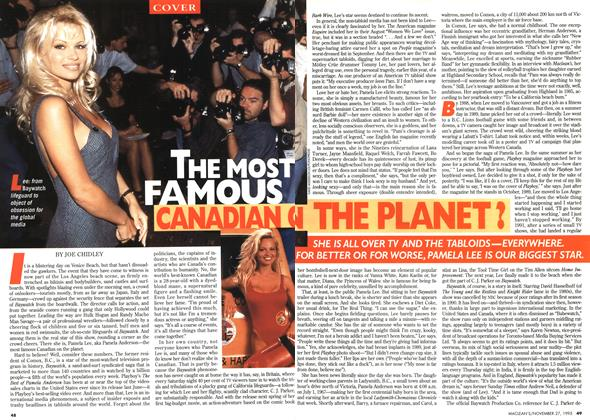 Article Preview: THE MOST CANADIAN OF THE PLANET?, November 1995 | Maclean's