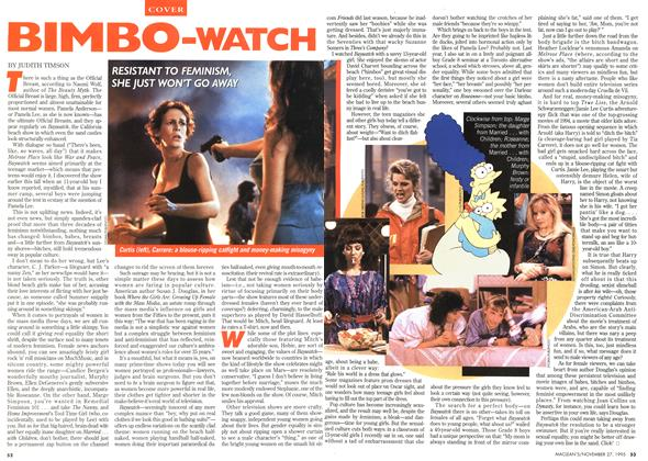 Article Preview: BIMBO-WATCH, November 1995 | Maclean's
