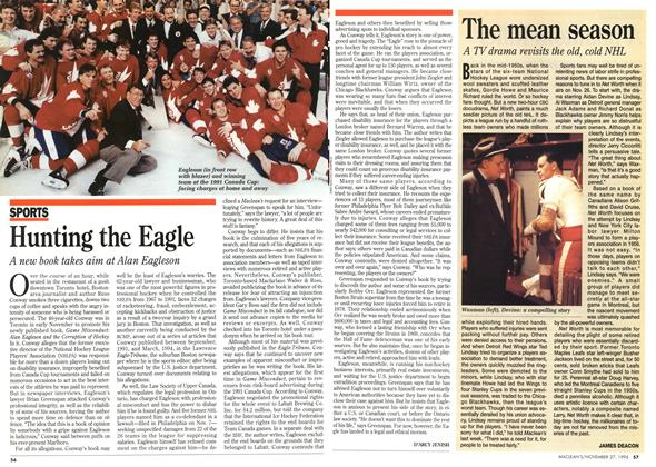 Article Preview: Hunting the Eagle, November 1995 | Maclean's