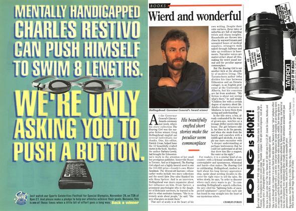 Article Preview: Wierd and wonderful, November 1995 | Maclean's