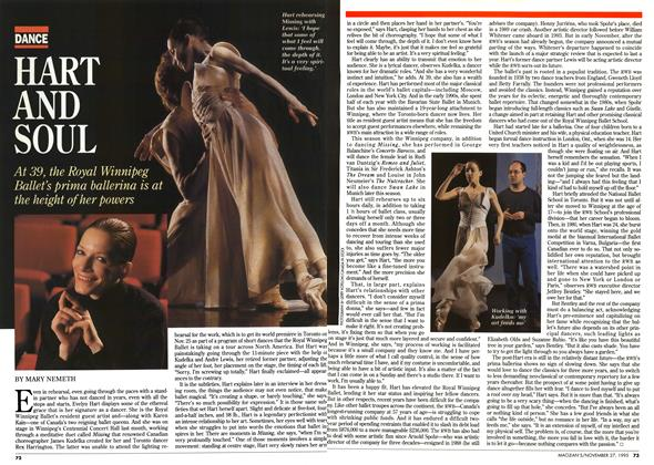 Article Preview: HART AND SOUL, November 1995 | Maclean's