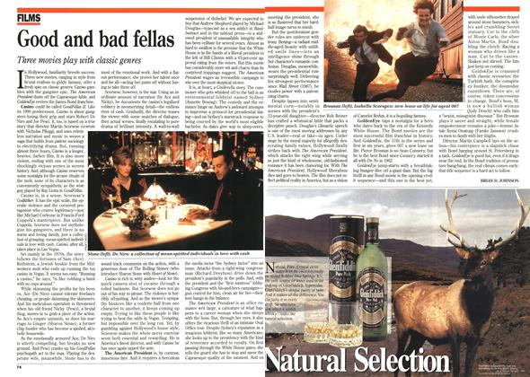 Article Preview: Good and bad fellas, November 1995 | Maclean's