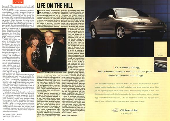 Article Preview: LIFE ON THE HILL, December 1995 | Maclean's