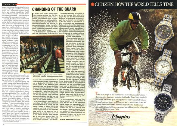 Article Preview: CHANGING OF THE GUARD, December 1995 | Maclean's