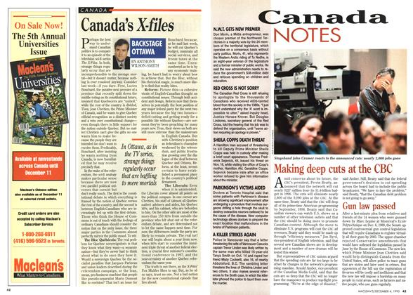 Article Preview: Canada's X-files, December 1995 | Maclean's
