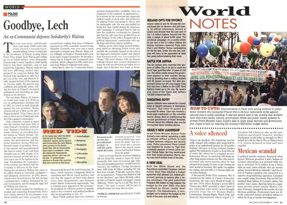 Article Preview: Goodbye, Lech, December 1995 | Maclean's