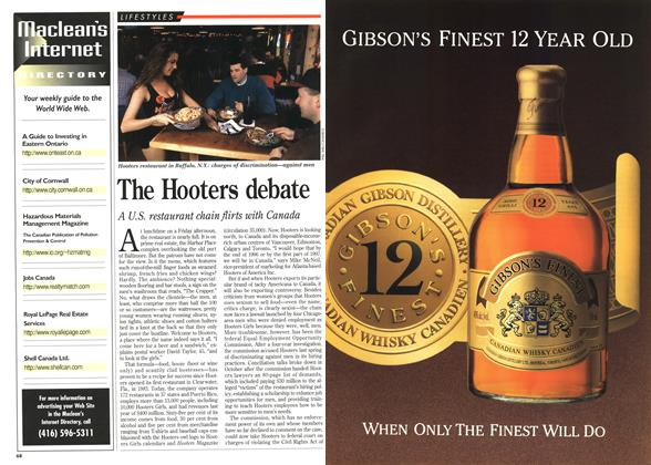 Article Preview: The Hooters debate, December 1995 | Maclean's