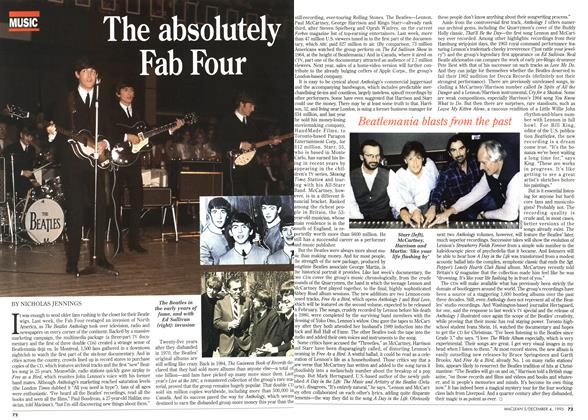 Article Preview: The absolutely Fab Four, December 1995 | Maclean's