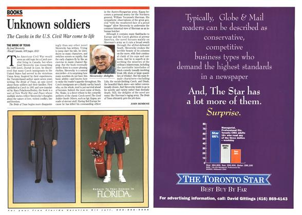 Article Preview: Unknown soldiers, December 1995 | Maclean's