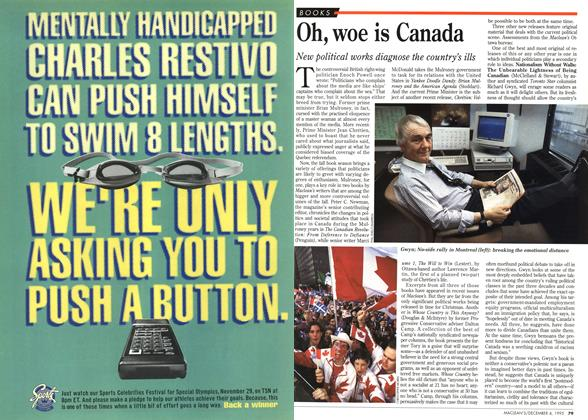 Article Preview: Oh, woe is Canada, December 1995 | Maclean's