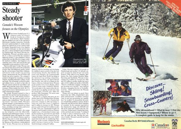 Article Preview: Steady shooter, DECEMBER  1995 | Maclean's