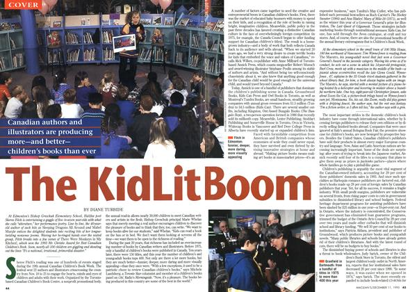 Article Preview: The KidLit Boom, DECEMBER  1995 | Maclean's