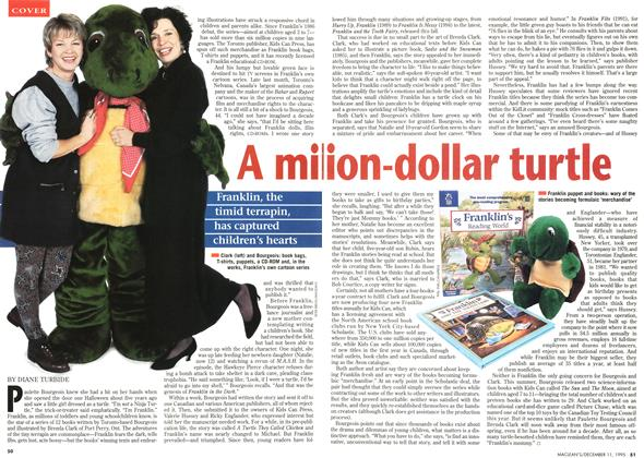 Article Preview: A million-dollar turtle, DECEMBER  1995 | Maclean's