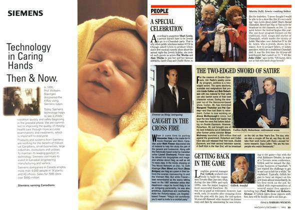 Article Preview: PEOPLE, DECEMBER  1995 | Maclean's