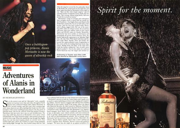 Article Preview: Adventures of Alanis in Wonderland, DECEMBER  1995 | Maclean's