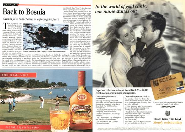 Article Preview: Back to Bosnia, December 1995 | Maclean's