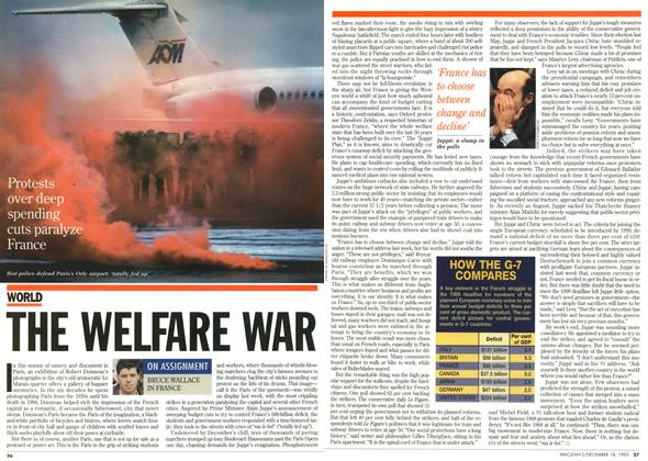 Article Preview: THE WELFARE WAR, December 1995 | Maclean's