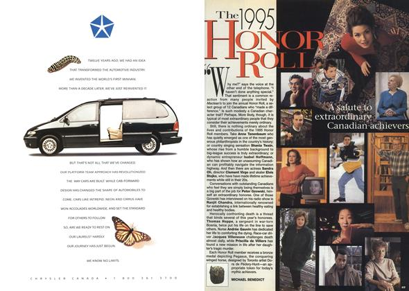 Article Preview: THE 1995 HONER ROLL, December 1995 | Maclean's