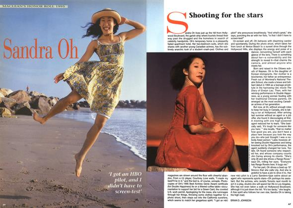 Article Preview: Shooting for the stars, December 1995 | Maclean's