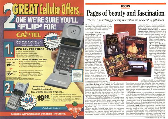 Article Preview: Pages of beauty and fascination, December 1995 | Maclean's