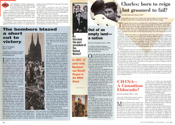 Article Preview: Charles: born to reign but groomed to fail?, DECEMBER 25,1995/JANUARY 1, 1996 1995 | Maclean's
