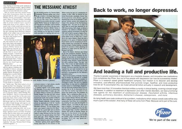 Article Preview: THE MESSIANIC ATHEIST, DECEMBER 25,1995/JANUARY 1, 1996 1995 | Maclean's
