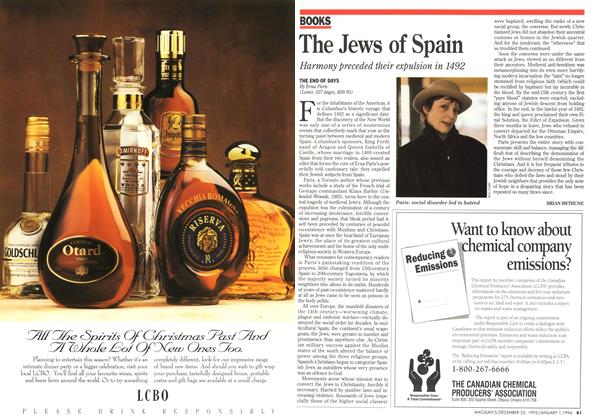 Article Preview: The Jews of Spain, DECEMBER 25,1995/JANUARY 1, 1996 1995 | Maclean's