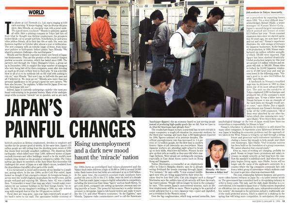 Article Preview: JAPAN'S PAINFUL CHANGES, January 1996 | Maclean's