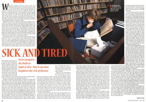 Article Preview: SICK AND TIRED, January 1996 | Maclean's