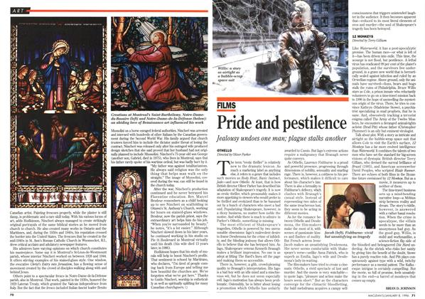 Article Preview: Pride and pestilence, January 1996 | Maclean's