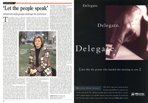 Article Preview: 'Let the people speak', January 1996 | Maclean's