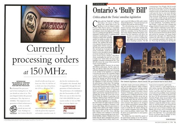 Article Preview: Ontario's 'Bully Bill', January 1996 | Maclean's