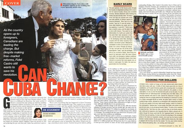 Article Preview: CAN CUBA CHANGE?, January 1996 | Maclean's