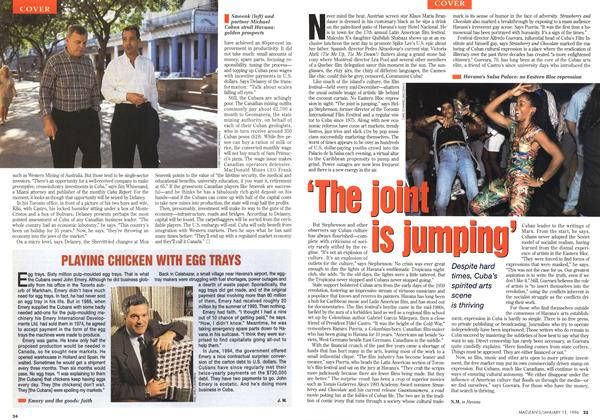 Article Preview: 'The joint is jumping, January 1996 | Maclean's