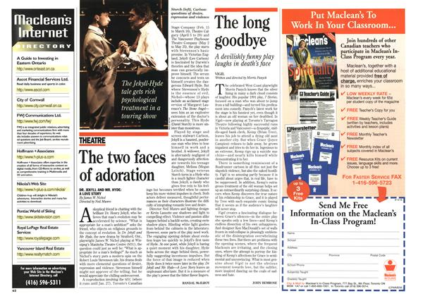Article Preview: The long goodbye, January 1996 | Maclean's