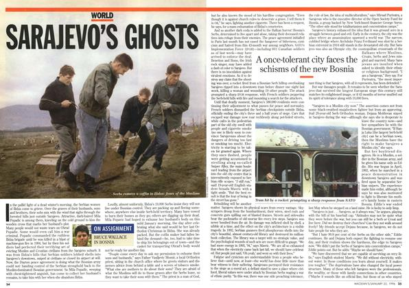 Article Preview: SARAJEVO'S GHOSTS, January 1996 | Maclean's
