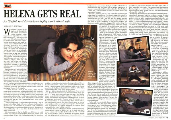 Article Preview: HELENA GETS REAL, January 1996 | Maclean's