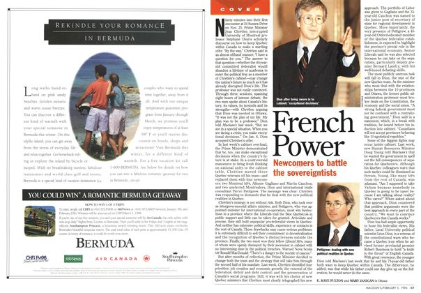 Article Preview: French Power, February 1996 | Maclean's