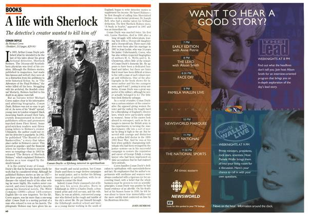 Article Preview: A life with Sherlock, February 1996 | Maclean's