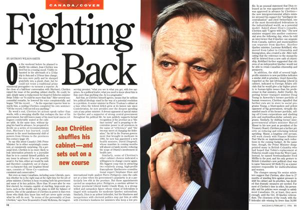 Article Preview: Fighting Back, February 1996 | Maclean's