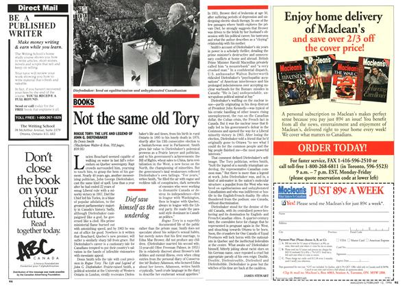 Article Preview: Not the same old Tory, February 1996 | Maclean's