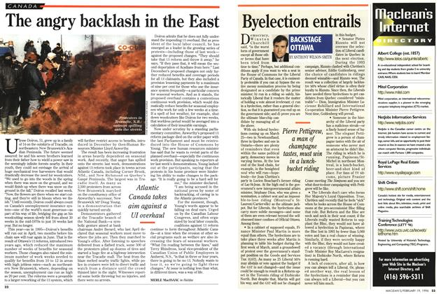 Article Preview: The angry backlash in the East, February 1996 | Maclean's