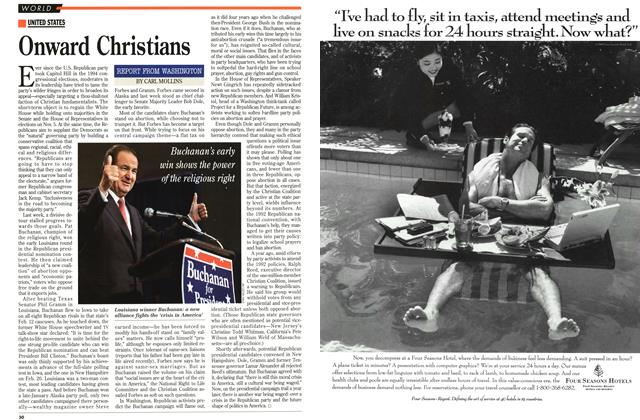 Article Preview: Onward Christians, February 1996 | Maclean's