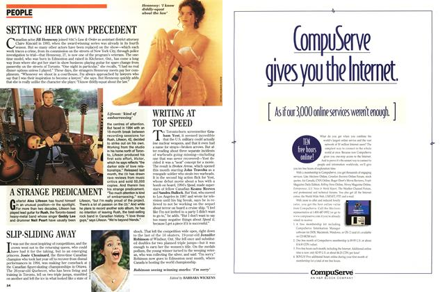 Article Preview: PEOPLE, February 1996 | Maclean's