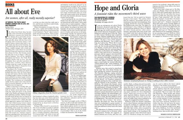 Article Preview: Hope and Gloria, February 1996 | Maclean's