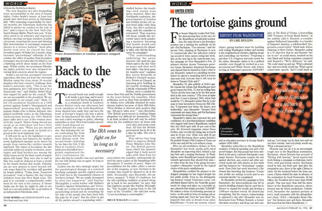 Article Preview: Back to the 'madness', February 1996 | Maclean's