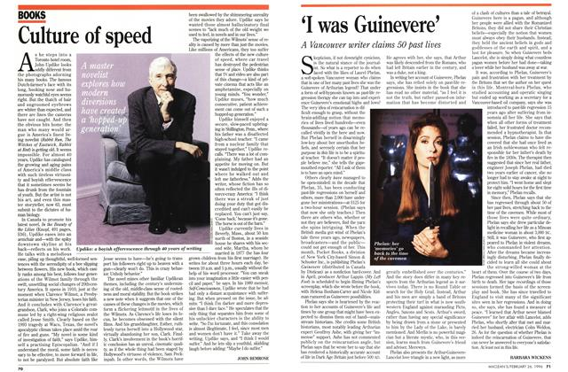 Article Preview: Culture of speed, February 1996 | Maclean's