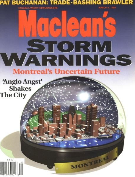 Issue: - March 1996   Maclean's