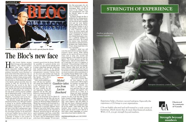 Article Preview: The Bloc's new face, March 1996 | Maclean's