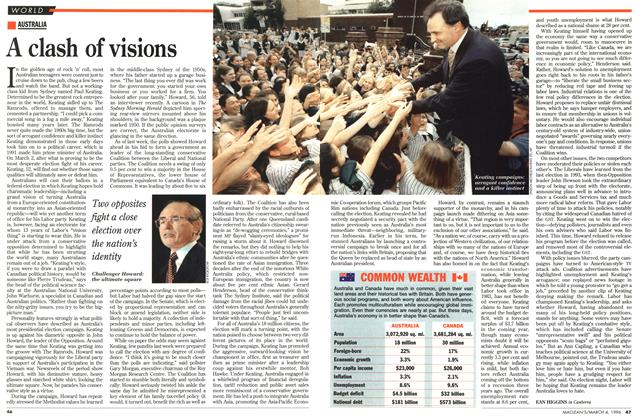 Article Preview: A clash of visions, March 1996 | Maclean's